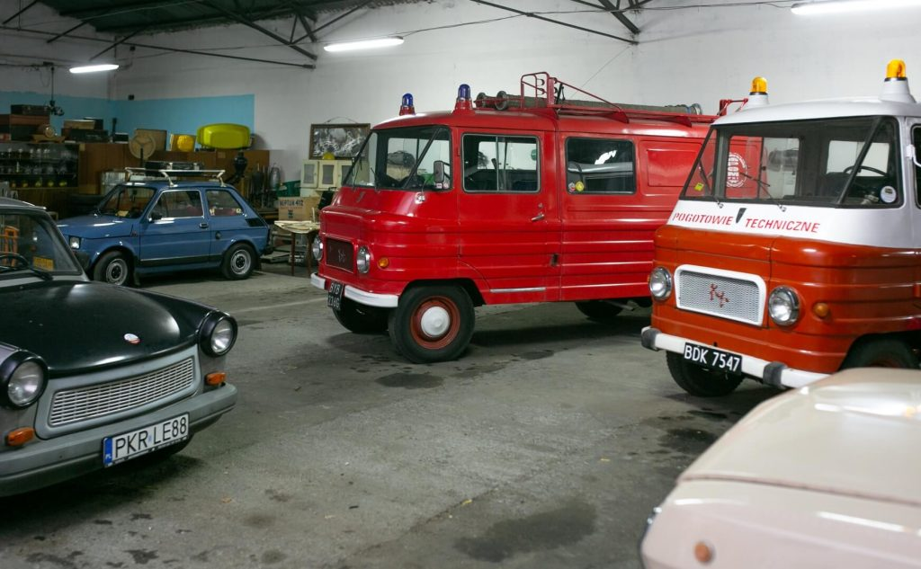 Pojazdy Muzeum POM PRL