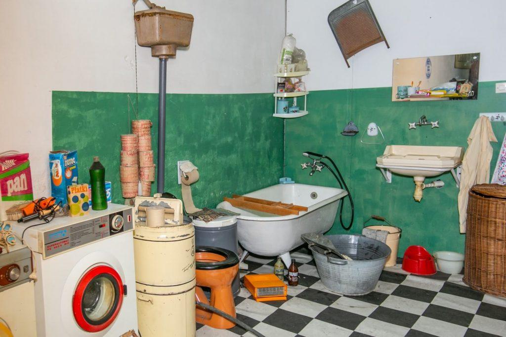 Łazienka PRL