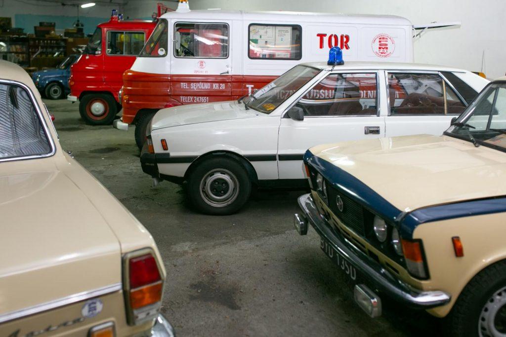 Muzealne pojazdy POM PRL